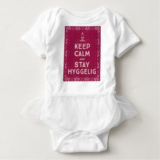 Body Para Bebê Mantenha calmo e estada Hyggelig