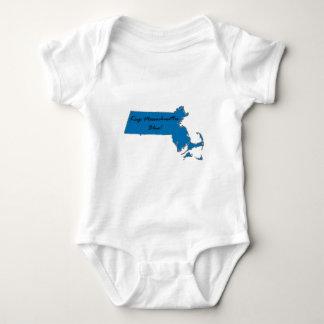 Body Para Bebê Mantenha Massachusetts azul! Orgulho Democrática!