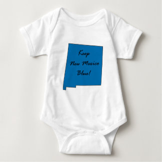 Body Para Bebê Mantenha New mexico azul! Orgulho Democrática!