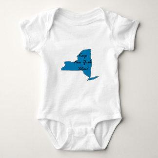 Body Para Bebê Mantenha New York azul! Orgulho Democrática!