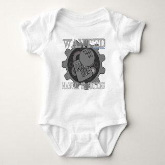 Body Para Bebê manual querido ou nada (caixa de engrenagens)