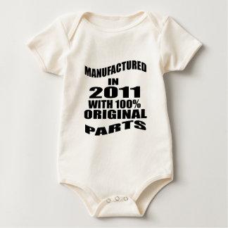 Body Para Bebê Manufacturado em 2011 com as peças do original de