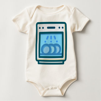 Body Para Bebê Máquina de lavar louça