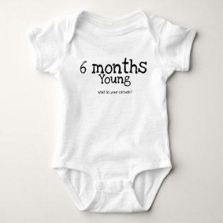 Body Para Bebê Marco miliário mensal do bebê