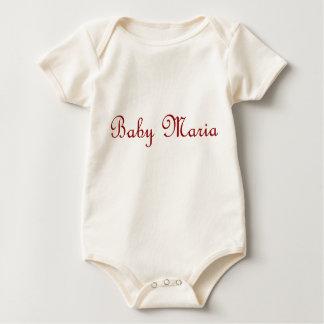 Body Para Bebê Maria