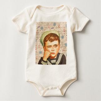 Body Para Bebê Marinheiro pequeno