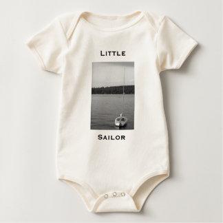 Body Para Bebê Marinheiro pequeno orgânico