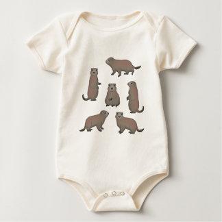 Body Para Bebê Marmota selecção