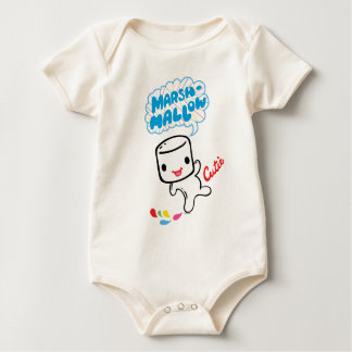 Body Para Bebê Marshmallow Cutie