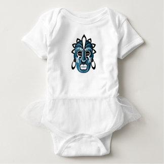 Body Para Bebê Máscara
