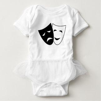 Body Para Bebê Máscara da comédia e da tragédia