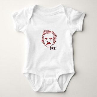 Body Para Bebê Máscara do ponto de entrada vermelho