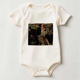 Body Para Bebê máscaras da sombra das rochas