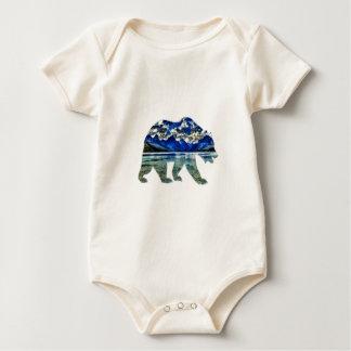 Body Para Bebê Máscaras do azul
