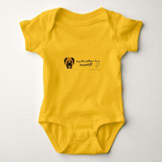 Body Para Bebê mastiff