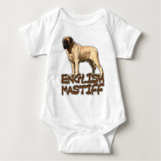 Body Para Bebê Mastiff inglês