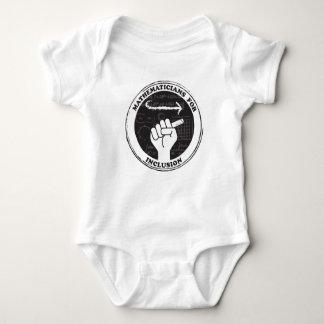 Body Para Bebê Matemáticos para o bebê da inclusão de uma peça só