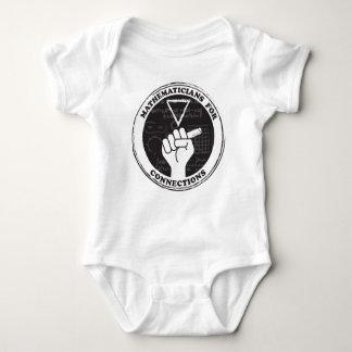 Body Para Bebê Matemáticos para o Bodysuit do bebê das conexões