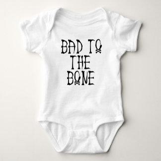 Body Para Bebê Mau ao osso