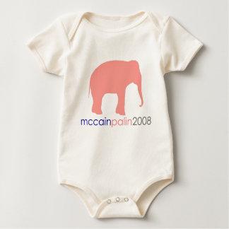 Body Para Bebê McCain Palin 2008