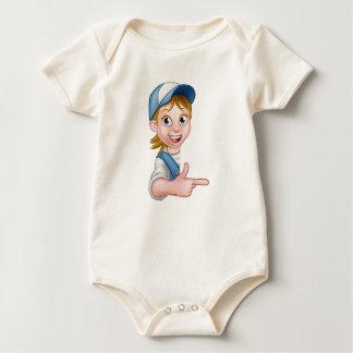 Body Para Bebê Mecânico ou canalizador do carpinteiro do