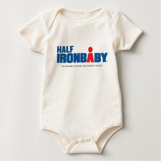 Body Para Bebê Meio Bodysuit orgânico do bebê do ferro