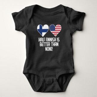 Body Para Bebê Meio finlandês é melhor do que nenhuns