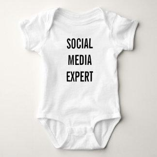 Body Para Bebê Meios sociais peritos