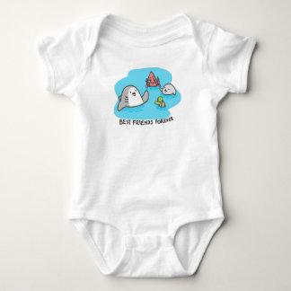 Body Para Bebê Melhores amigos para sempre!