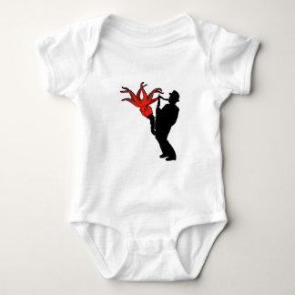Body Para Bebê Melodia oito equipada com pernas