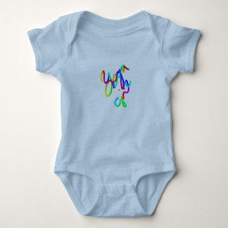 Body Para Bebê Menina azul da ioga do ~~ do terno do corpo