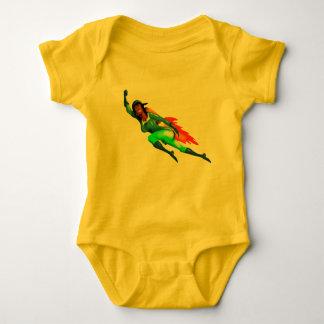 Body Para Bebê MENINA de JETPACK ROKET por Jetpackcorps