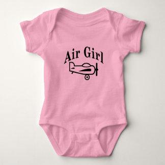 Body Para Bebê Menina do ar