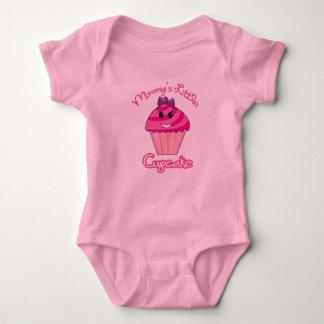 Body Para Bebê Menina do cupcake da mamã o Creeper de pouca