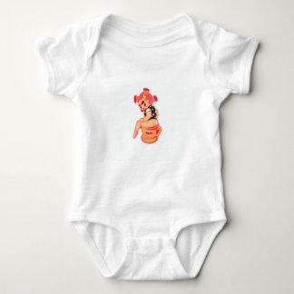 Body Para Bebê menina do potty