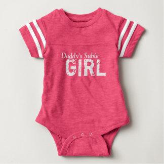 Body Para Bebê Menina do Subie do pai