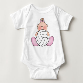 Body Para Bebê Menina do voleibol de Lil