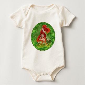 Body Para Bebê Menina irlandesa