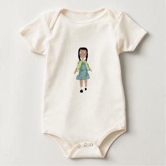Body Para Bebê menina minúscula