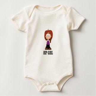 Body Para Bebê menina tímida anca