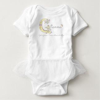 Body Para Bebê Meninas nome e bebê personalizado significado de