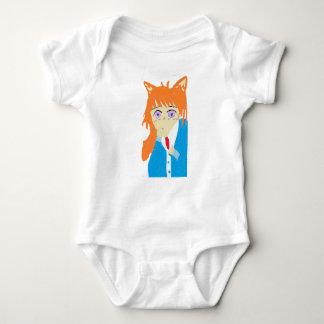 Body Para Bebê menino da raposa