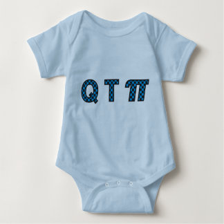 Body Para Bebê Menino de QTπ