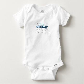 Body Para Bebê Menino do aniversário
