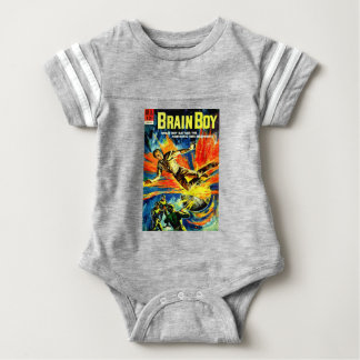 Body Para Bebê Menino do cérebro e a máquina do tempo