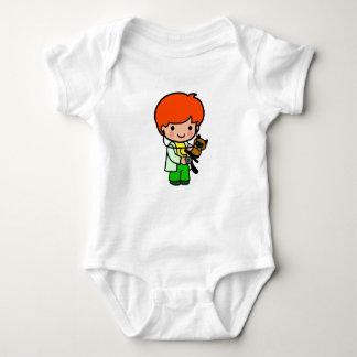 Body Para Bebê Menino veterinário