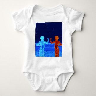 Body Para Bebê Meninos do espaço