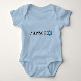 Body Para Bebê Mensch com t-shirt da estrela de David