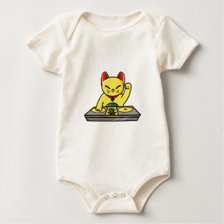 Body Para Bebê Meow-sician