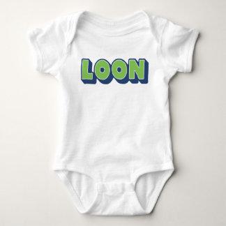 Body Para Bebê Mergulhão-do-norte, dialecto Doric, menino,